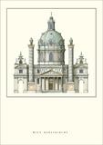 Karlskirche, Vienna Prints by Johann Bernhard Fischer Von Erlach