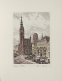 Danzig, Rathaus Collectable Print by  Bruck