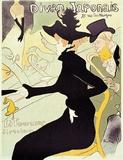 Divan Japonais Serigraph by Henri de Toulouse-Lautrec