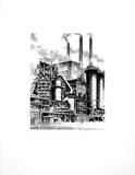 Industriewerk Collectable Print by  Bruck