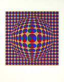Neptun 3 Limited Edition by Victor Vasarely