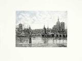 Stralsund, Hafen Collectable Print by  Bruck