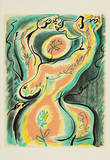 Bagdelen af en nøgen kvinde Særudgave af André Masson