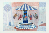 Carousel II Limited Edition by Paula Mcardle