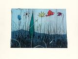Blumen am Mont Ventoux, c.2005 Begränsad utgåva av Paul Wunderlich