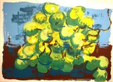 Trauben Collectable Print by Rainer Fetting