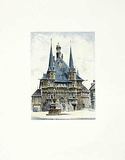 Wernigerode, Rathaus Collectable Print by  Bruck