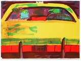 N. Y. Taxi Limited Edition by Rainer Fetting