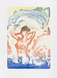 Aus dem Wasser steigend Begränsad utgåva av Reinhard Stangl