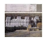 Reichstag VI Reproduction pour collectionneurs par  Christo