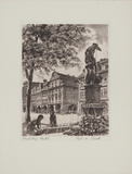 Hirschberg, Markt Collectable Print by  Bruck