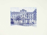 Rostock, Universität Print by Bruck
