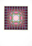 Sans Titre 1 (F.V. 3/30) Spesialversjon av Victor Vasarely