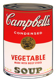 Campbell's Soup - Vegetable Serigraph by Andy Warhol