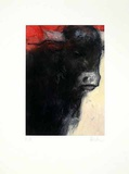 Stier Rot, c.2001 Limited Edition by Hans Richter