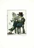 Kleiner Trompetenspieler Limited Edition by Andreas Nossmann