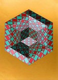 Bi-Sanction Limited Edition by Victor Vasarely