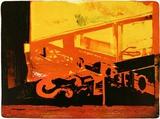 Luft brennt, c.2000 Limited Edition av Reinhard Stangl