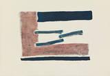 Schwebende Blau-Rot Edição limitada por Georg Meistermann
