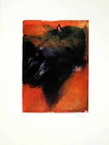 Stier Orange, c.2001 Limited Edition by Hans Richter
