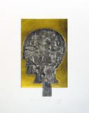 Kopf, c.2002 Begränsad utgåva av Mimmo Paladino