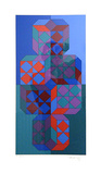 Sans Titre vertical Limited Edition by Victor Vasarely