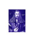 Selbstbildnis Blau Collectable Print by Albrecht Dürer