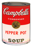 Campbell's Soup - Pepper Pot Serigraph by Andy Warhol