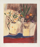 Flowers in Jugs, c.2000 Limited Edition by Leo Mcdowell