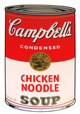 Campbell's Soup - Chicken Noodle Serigraph by Andy Warhol