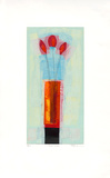 Red Vase, c.1999 Limited Edition by Russel Baker