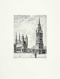 Halle, Markt Collectable Print by  Bruck