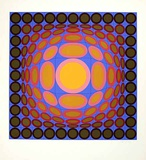 Tri Vega Limited Edition by Victor Vasarely