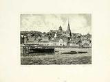 Flensburg, Gesamtansicht Collectable Print by  Bruck