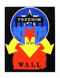 The Wall (from the American Dream Portfolio) Serigraph by Robert Indiana