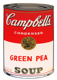 Campbell's Soup - Green Pea Serigraph by Andy Warhol
