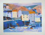 Winter Harbour Limited Edition by Richard Tuff