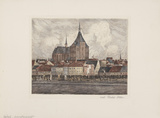 Rostock, Gesamtansicht Limited Edition by  Fischer-lenz