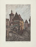 Rothenburg, Rödertor Collectable Print by  Zwicker