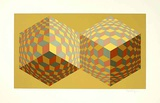 Mokus Limited Edition by Victor Vasarely