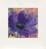 Minuetta/Blue Poppy, c.2000 Limited Edition by Nel Whatmore