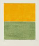 Ohne Titel Orange/Grün, c.2001 Édition limitée par Gunther Forg