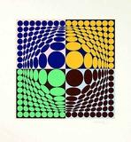 Vega Aix Limitierte Auflage von Victor Vasarely