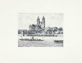 Magdeburg, Dom (quer) Collectable Print by  Bruck
