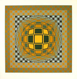 Zeng Limited Edition by Victor Vasarely
