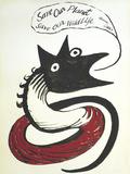 Save our Planet Sérigraphie par Alexander Calder