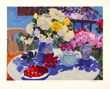 Tables in Summer II, c.2000 Limited Edition by Julian Askins