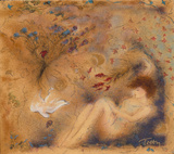 Moondance, c.2001 Limited Edition by Janet Treby