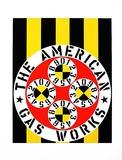 The American Gas Works (from the American Dream Portfolio) Serigrafia por Robert Indiana