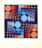 Thez Edition limitée par Victor Vasarely